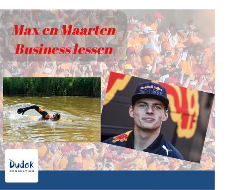Max en Maarten Business lessen