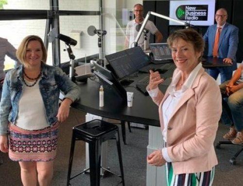 Over sales en gedrag bij New Business Radio